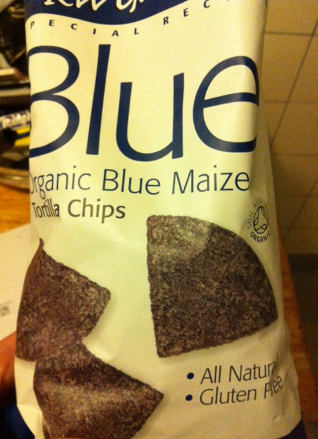 Organic glutenfree Blue Corn Tortilla Chips