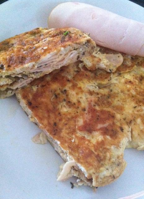 Chicken-Egg-Omelett