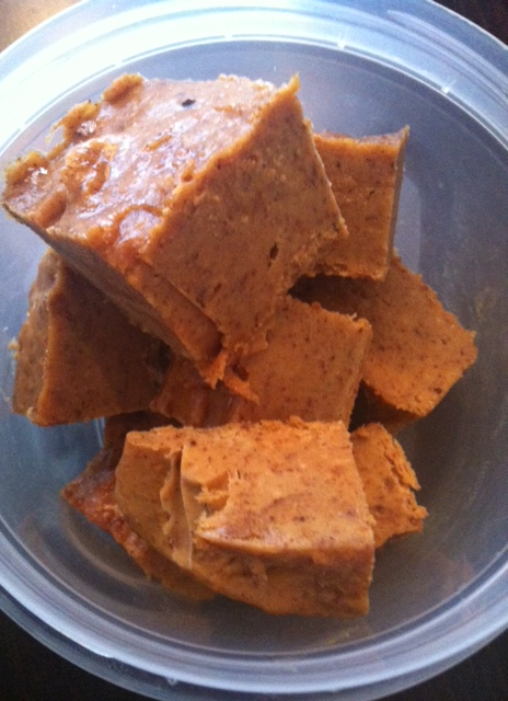 Pumpkin Fudge - Recipe by lisalately.com
