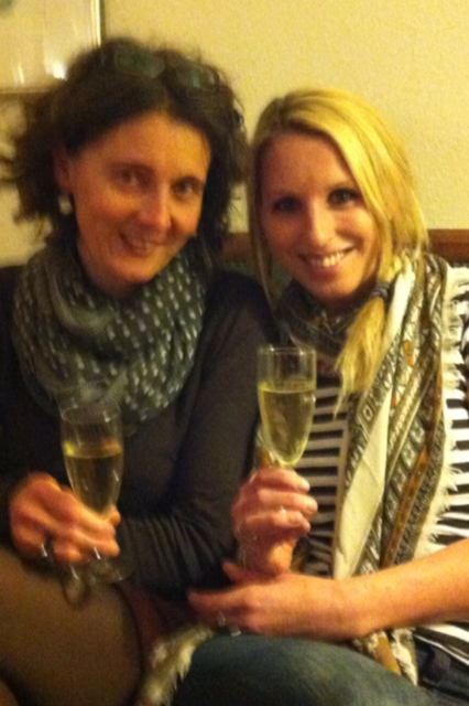 Lisa&Lucie - Prosecco time!!