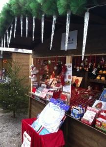 Selling Christmas-y stuff