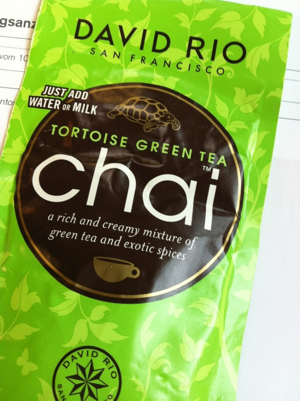 Green Chai Latte