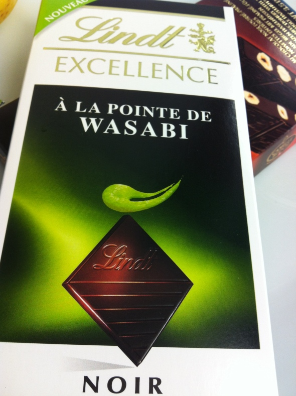 Dark from Lindt with Wasabi
