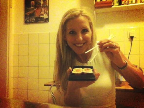 Pre-dinner Sushi