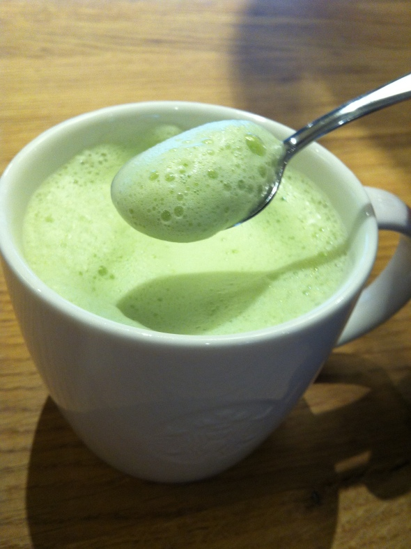 Skinny Matcha Green Chai Latte