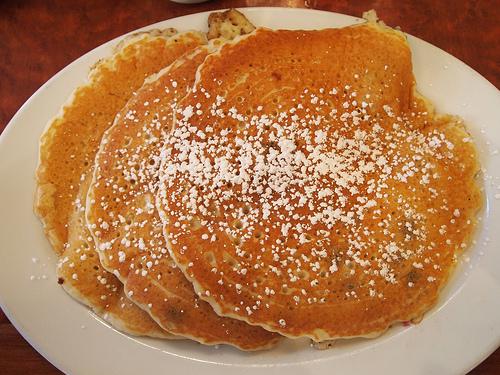 Pancakes prep