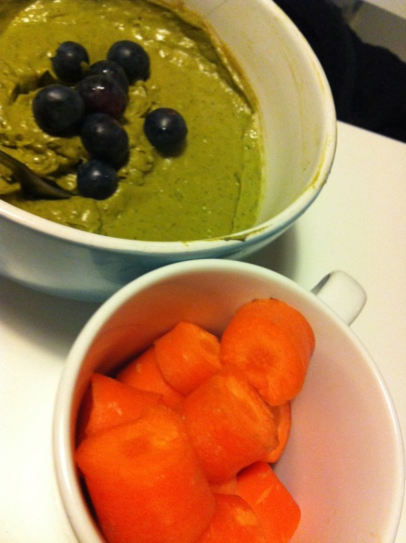 Green Smoothie&Carrots