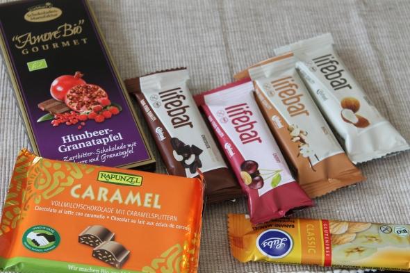 Chocolate Cashew, Cherry Almond, Brazil Nut, Coconut