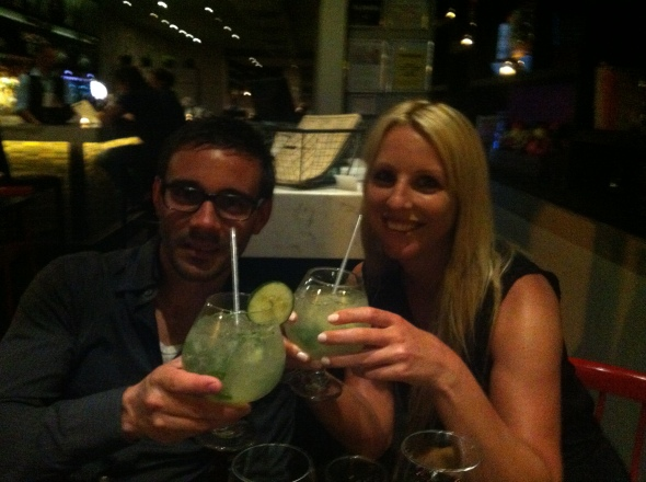 Ever had a Cucumber-Gin-Tonic that was as big as your head??