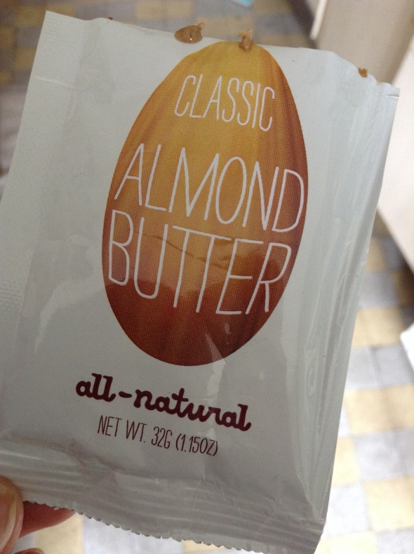 Almond Butter. 2 weeks without ANY nutbutter is crazy!!