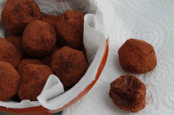 Homemade Protein Chocolate Truffles