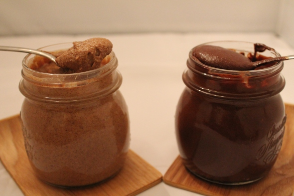 Salted Vanilla Cinnamon Almond BUtter & Cacao Coconut Almond Butter