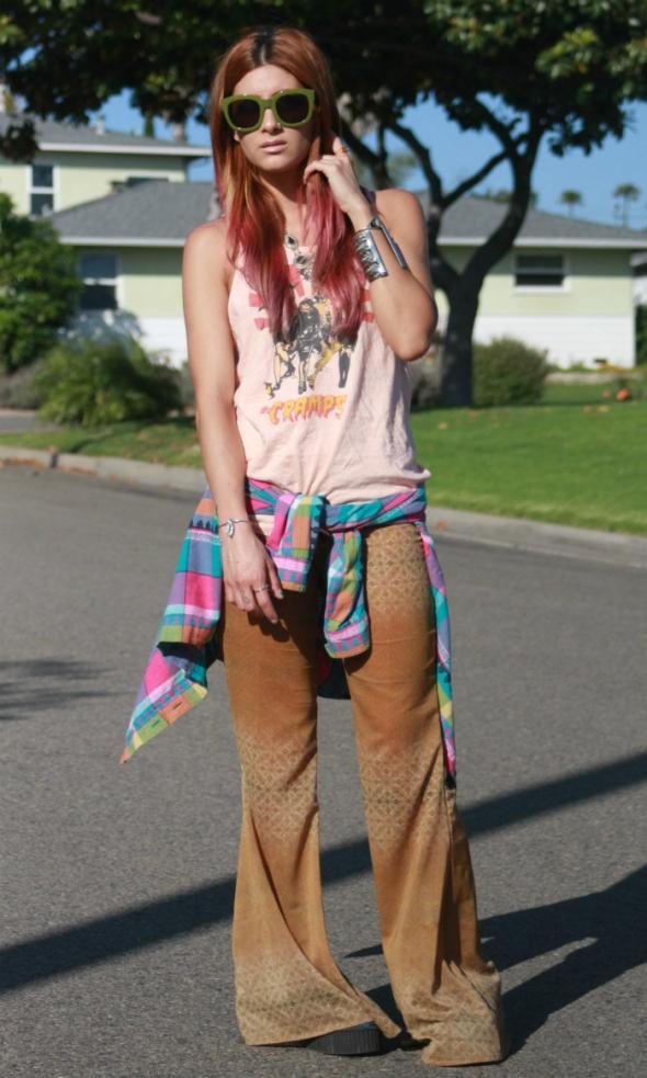 grunge style fashion vintage hippie boho