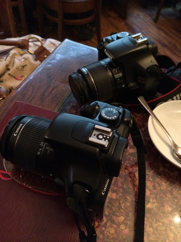 Blogger essentials - twin cams!