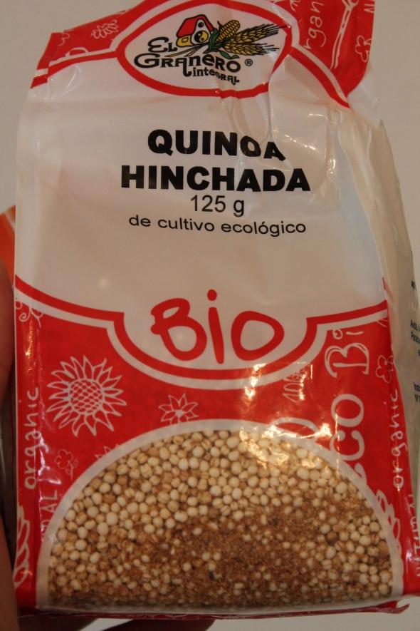 Quinoa - Puffs?