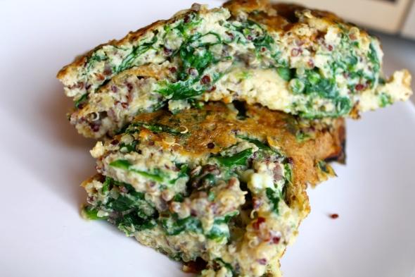 Quinoa Omelett