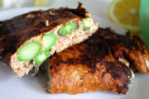 Asparagus/Tuna/Eggwhite Omelett....