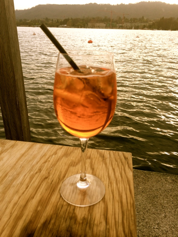 Nothing a delicious sip of Aperol Sprizz can fix - especially with this view!
