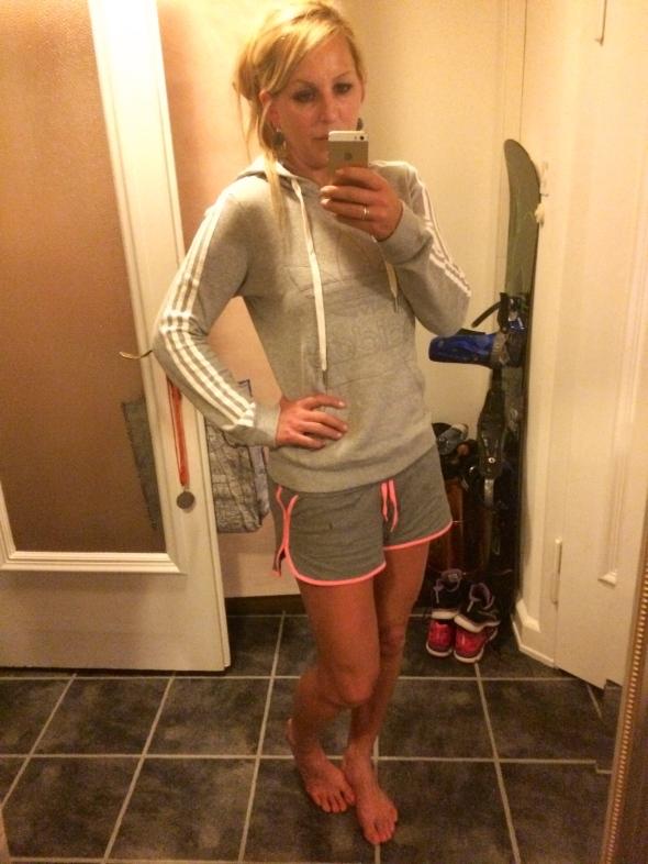 Hoodie&Shorts
