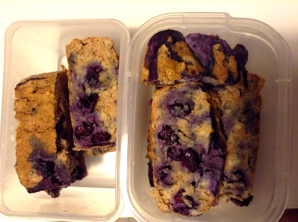More Berry Coconut Oatmeal Cake