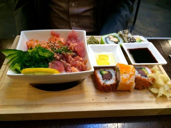 Sigi's plate: Sushi/Sashimi Feast