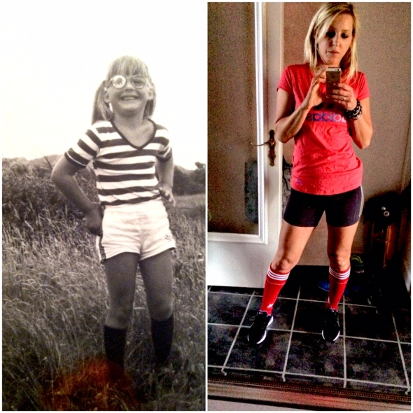 I secretly wished I was already a Crossfitter at the age of 5. WITH that stupid eye patch.