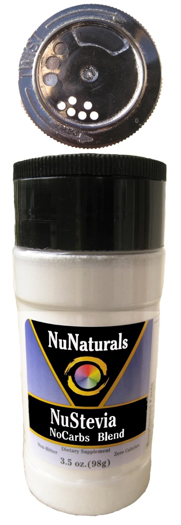NuStevia NoCarbs Spice Jar w Cap