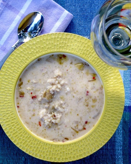 4 - Stuffed Artichoke Soup