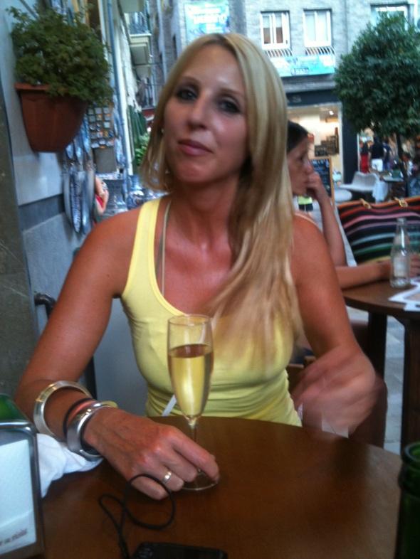Drunk in Spain.