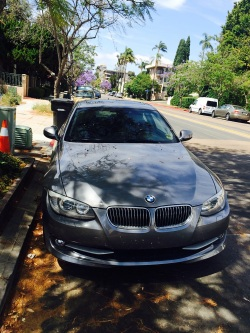 All of a sudden I won a BMW. Ok, lie. It's Lauras. But I pretend it to be mine while cruising through San Diego. Nope, that wouldn't be part of the marriage portion either.