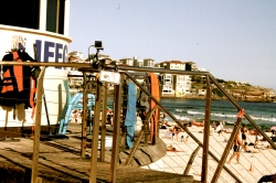 Lifeguard's view, Bondi Beach, Sydney, January 2016